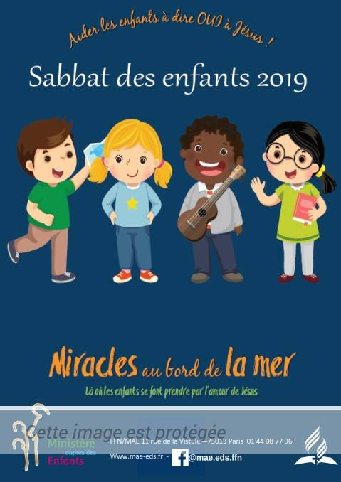 Sabbat de l'enfant et du jeune – 12/10/2019